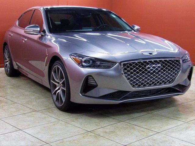 new 2021 Genesis G70 car, priced at $50,215