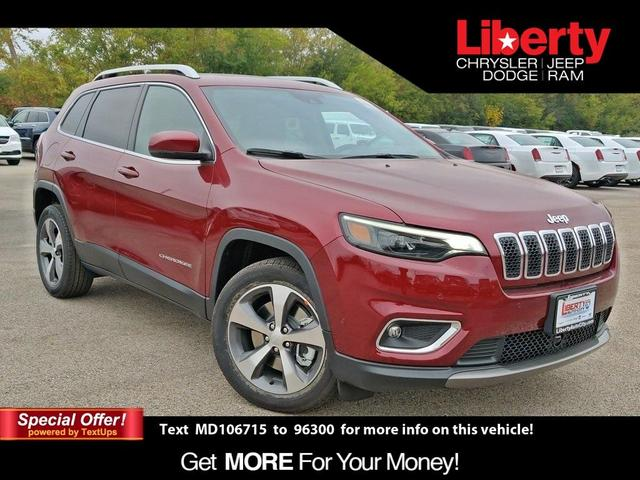new 2021 Jeep Cherokee car, priced at $33,991