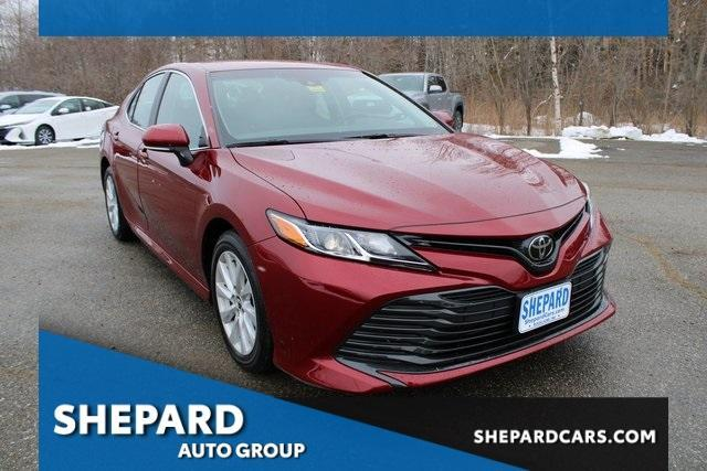 used 2018 Toyota Camry car, priced at $18,595