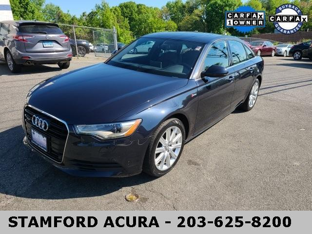 used 2014 Audi A6 car, priced at $22,900
