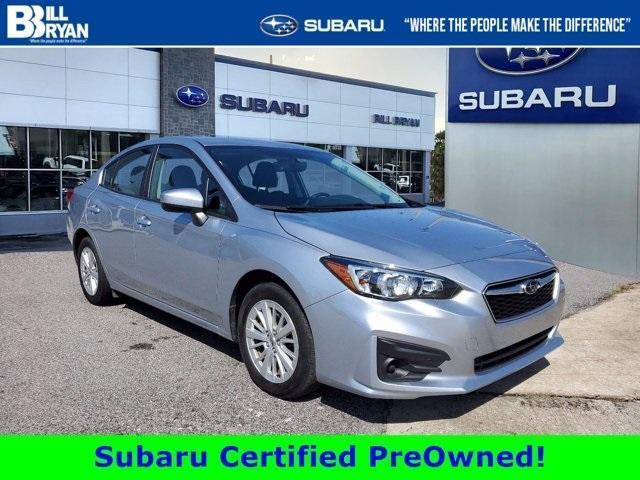used 2018 Subaru Impreza car, priced at $18,396