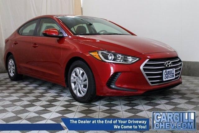 used 2018 Hyundai Elantra car, priced at $16,316