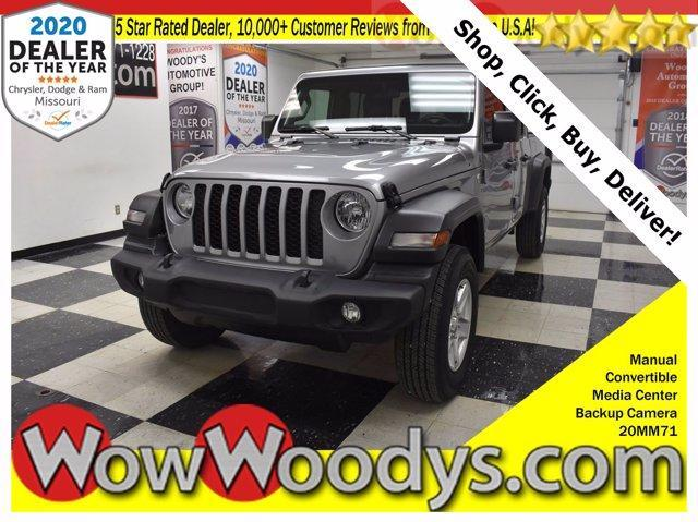 used 2020 Jeep Gladiator car, priced at $41,320