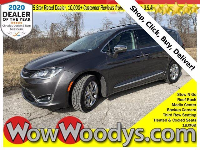 used 2019 Chrysler Pacifica car, priced at $25,526