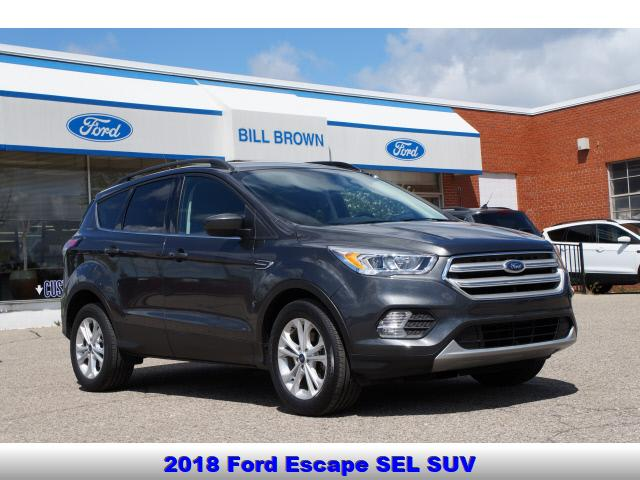 used 2018 Ford Escape car, priced at $18,998