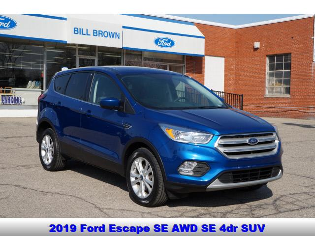 used 2019 Ford Escape car, priced at $19,999