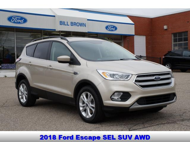 used 2018 Ford Escape car, priced at $18,888