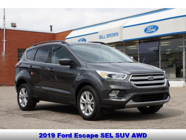 used 2019 Ford Escape car, priced at $24,999