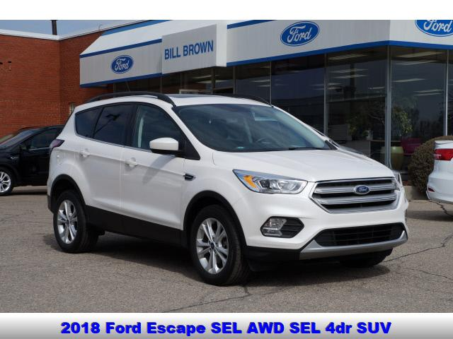 used 2018 Ford Escape car, priced at $22,488