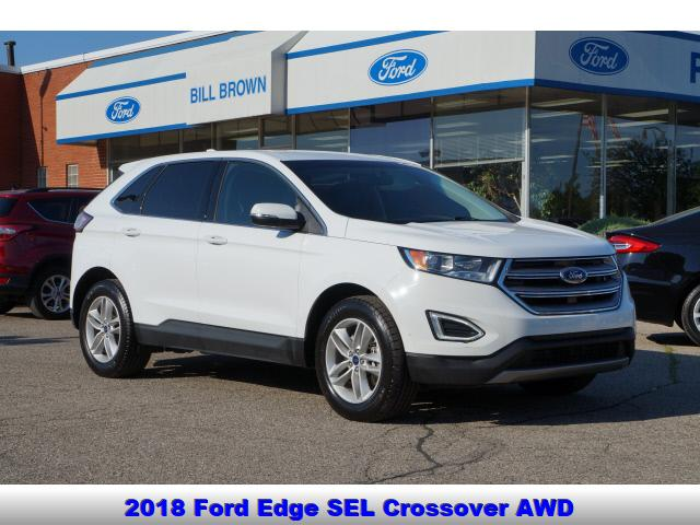 used 2018 Ford Edge car, priced at $25,998