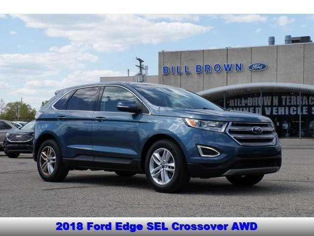 used 2018 Ford Edge car, priced at $21,998