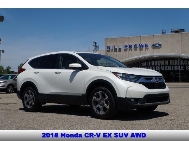 used 2018 Honda CR-V car, priced at $23,998