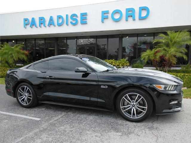 used 2016 Ford Mustang car, priced at $26,850