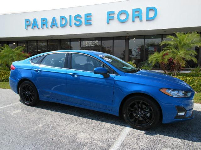 used 2019 Ford Fusion car, priced at $22,695