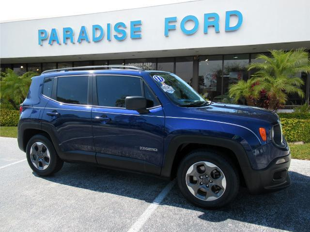 used 2017 Jeep Renegade car, priced at $14,890