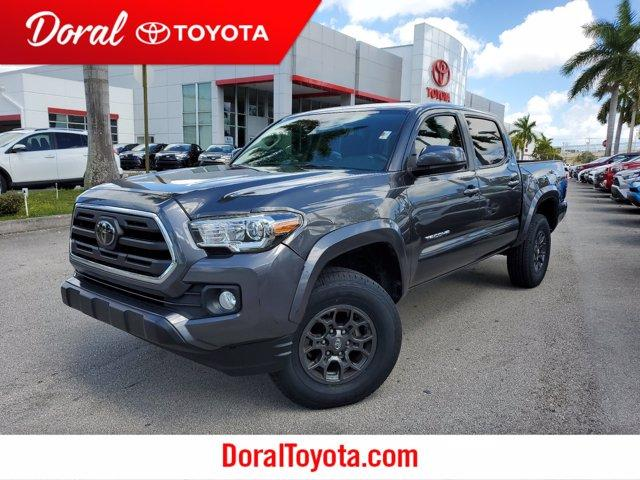 used 2018 Toyota Tacoma car, priced at $30,990