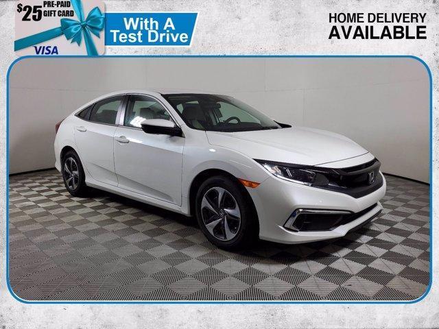 new 2021 Honda Civic car, priced at $21,558