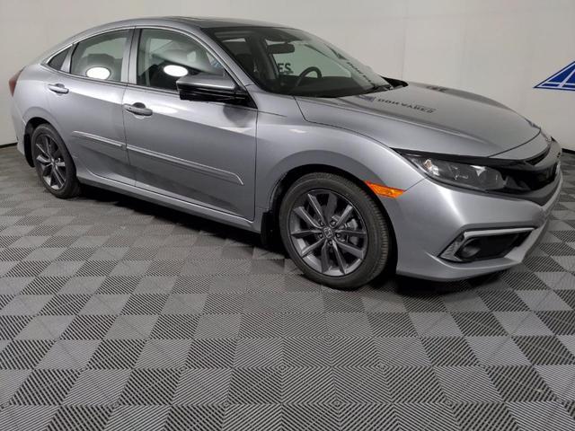 new 2021 Honda Civic car, priced at $26,217