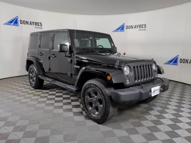 used 2017 Jeep Wrangler Unlimited car, priced at $33,734