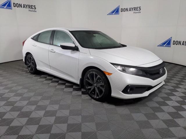 new 2021 Honda Civic car, priced at $25,329