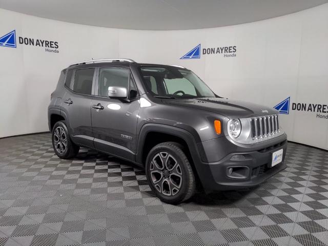 used 2017 Jeep Renegade car, priced at $19,516