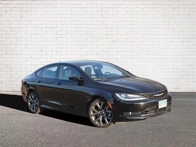 used 2016 Chrysler 200 car, priced at $17,348