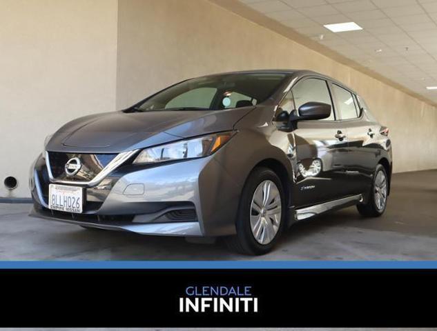 used 2019 Nissan Leaf car, priced at $16,988