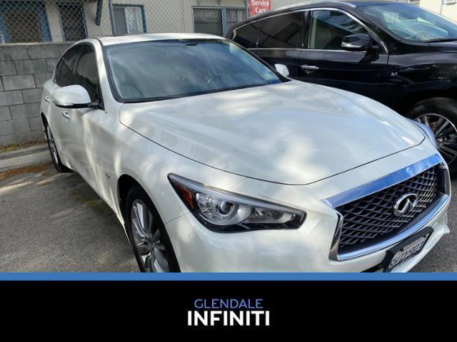used 2018 INFINITI Q50 car, priced at $26,988