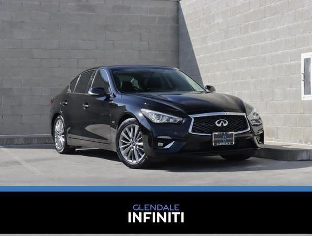 used 2018 INFINITI Q50 car, priced at $26,887