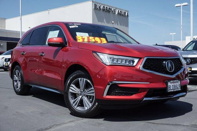 used 2019 Acura MDX car, priced at $37,543