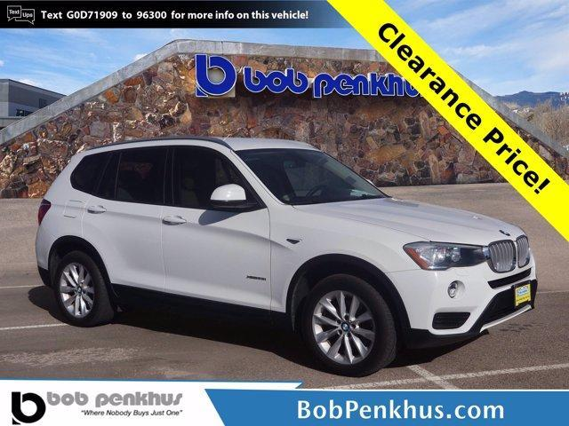 used 2016 BMW X3 car, priced at $19,199