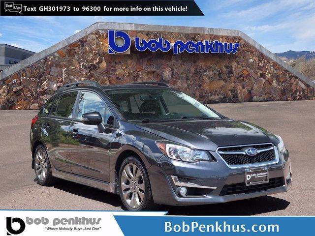 used 2016 Subaru Impreza car, priced at $18,199