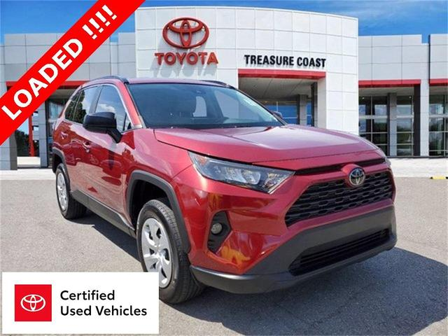 used 2019 Toyota RAV4 car, priced at $23,183