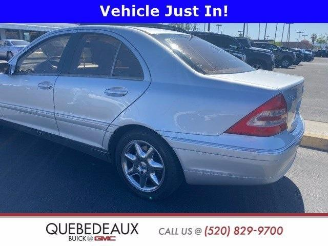 used 2001 Mercedes-Benz C-Class car, priced at $4,575