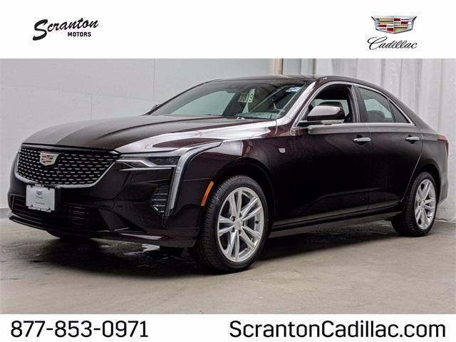 new 2021 Cadillac CT4 car, priced at $39,815