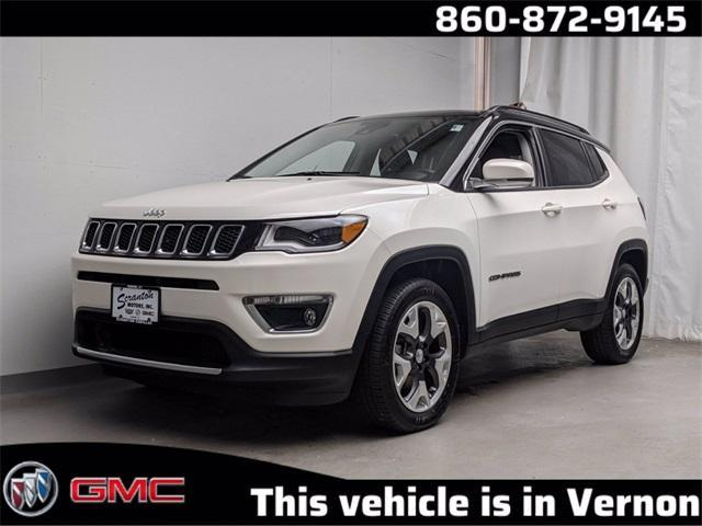 used 2018 Jeep Compass car, priced at $23,477