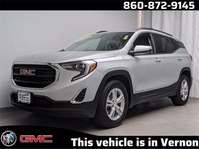 used 2018 GMC Terrain car, priced at $27,434