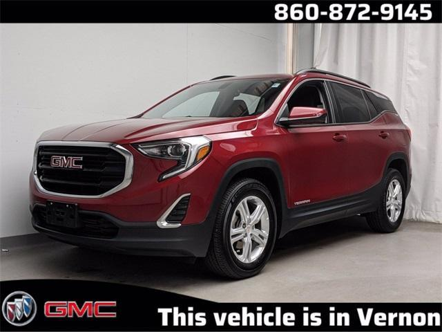 used 2018 GMC Terrain car, priced at $23,609