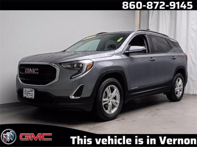 used 2018 GMC Terrain car, priced at $25,334