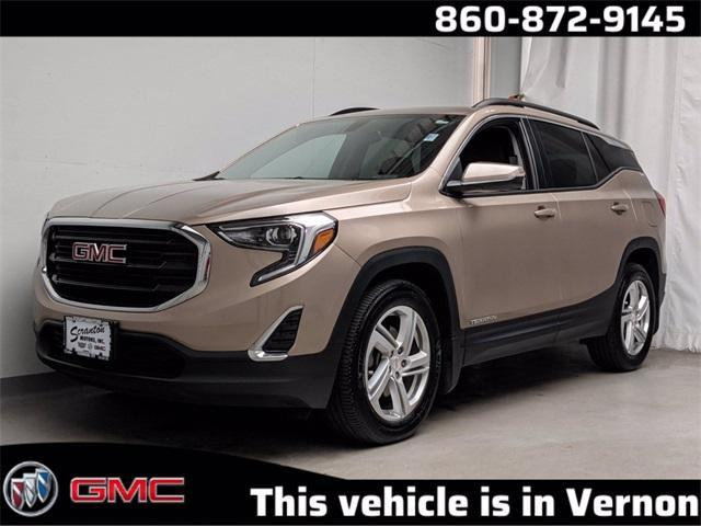 used 2018 GMC Terrain car, priced at $24,627