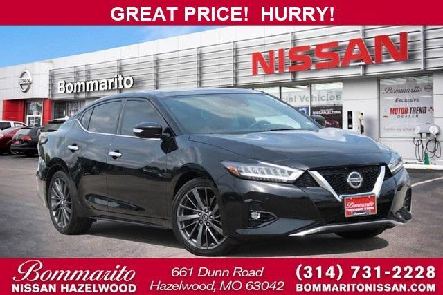 used 2019 Nissan Maxima car, priced at $36,975