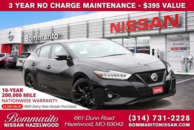 new 2021 Nissan Maxima car, priced at $43,055