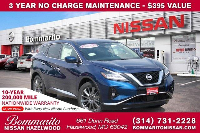 new 2021 Nissan Murano car, priced at $38,455