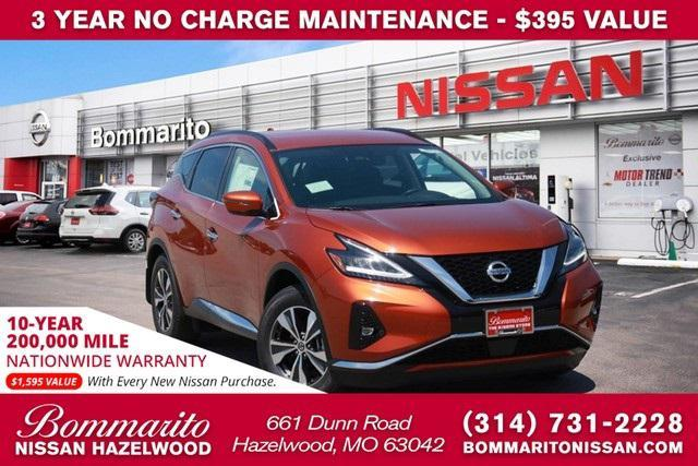 new 2021 Nissan Murano car, priced at $36,550