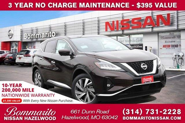 new 2021 Nissan Murano car, priced at $40,130