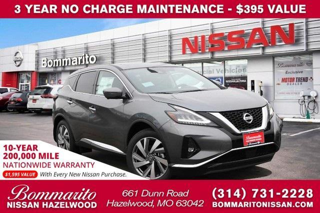 new 2021 Nissan Murano car, priced at $41,680