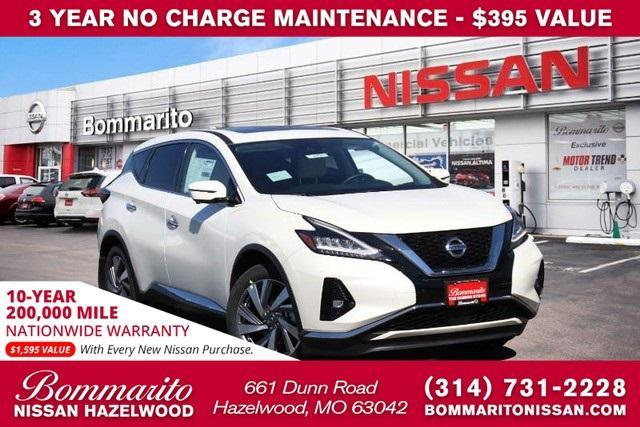 new 2021 Nissan Murano car, priced at $41,975