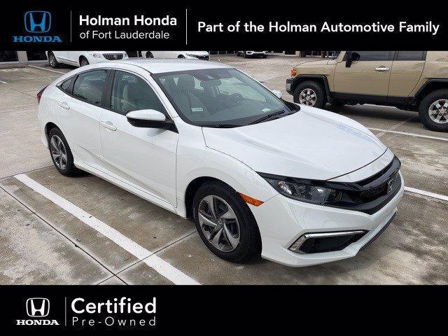 used 2019 Honda Civic car, priced at $18,000