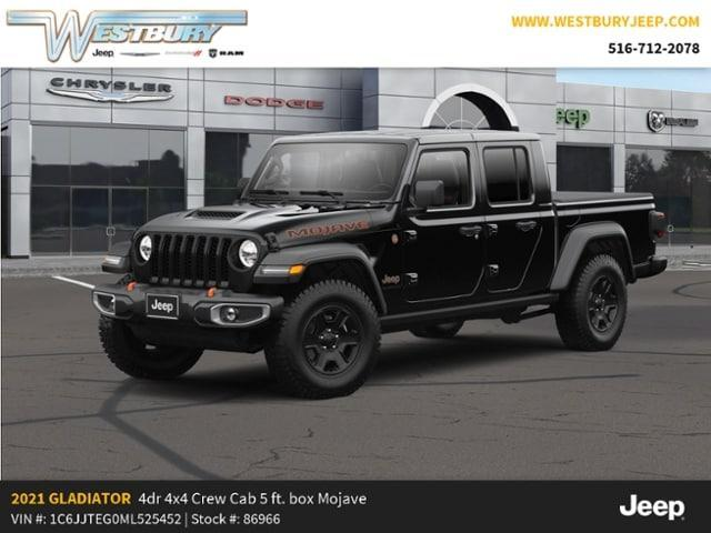 new 2021 Jeep Gladiator car, priced at $58,130