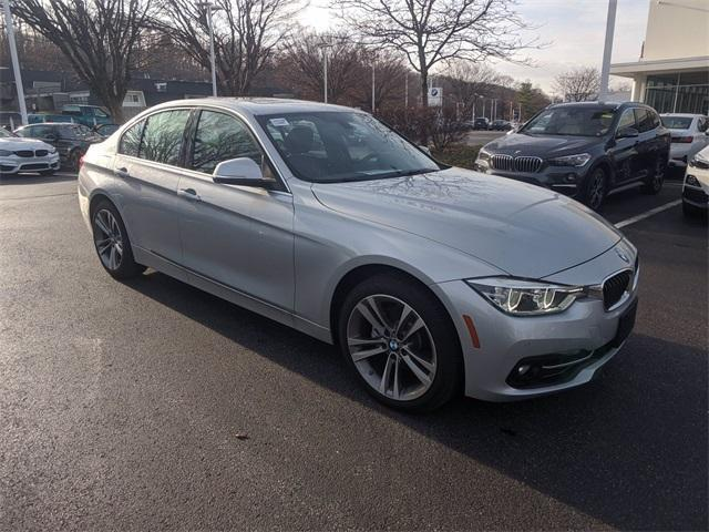 used 2018 BMW 330 car, priced at $31,990